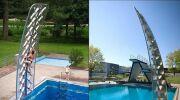 Amusez-vous différemment dans la piscine, avec Aquaclimb
