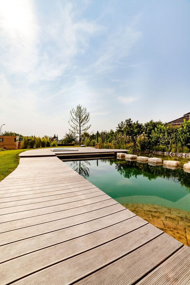 """Découvrez Kébony : le spécialiste de la terrasse bois<span class=""""normal italic petit"""">© Kebony</span>"""