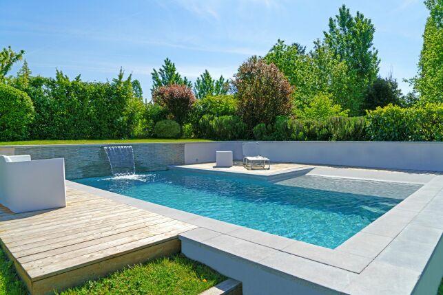 Une piscine qui s'intègre parfaitement à tous les jardins et environnements.