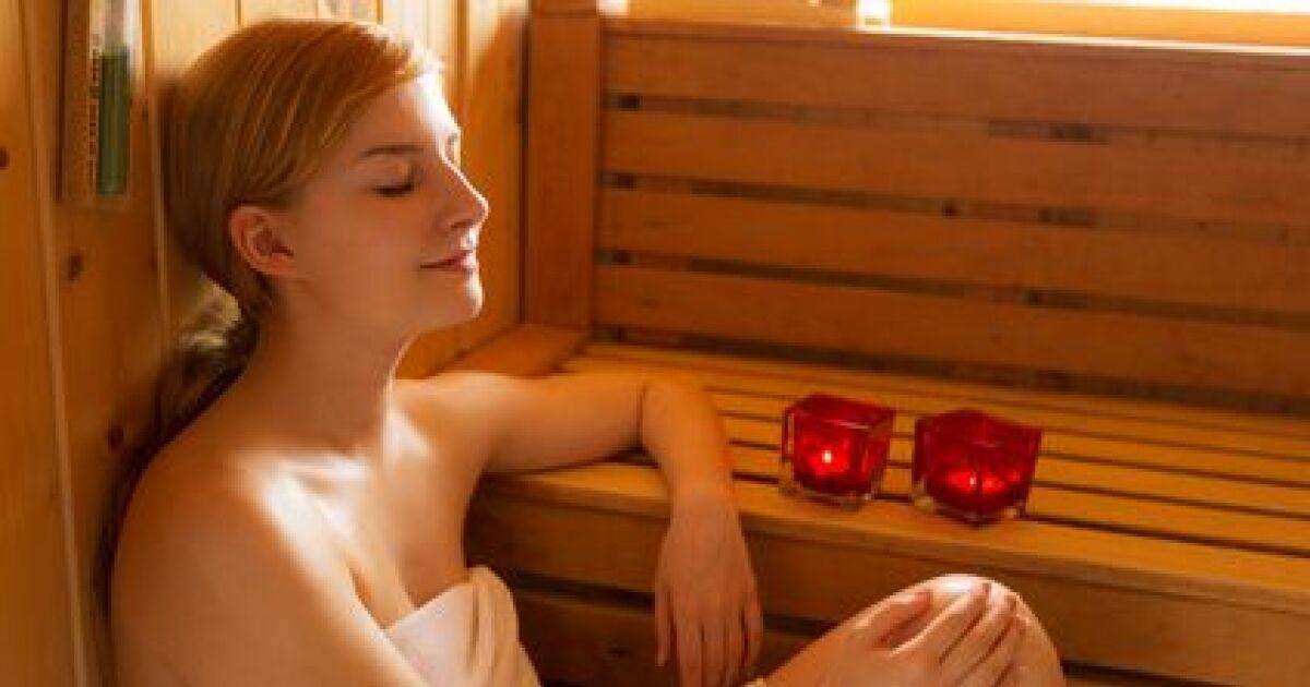 les bienfaits du sauna contre le stress. Black Bedroom Furniture Sets. Home Design Ideas
