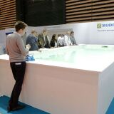 Les Water tests à Piscine Global Europe 2018