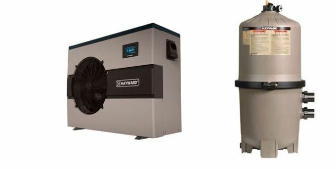 Pompe à chaleur EnergyLine Pro i et filtre à éléments SwimClear™
