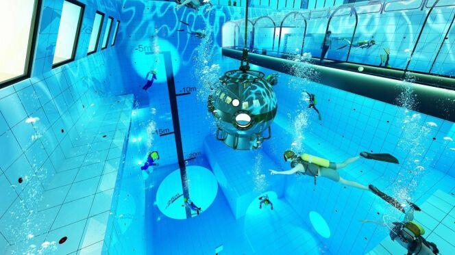 Deepspot : la piscine la plus profonde du monde