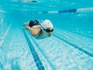 Déroulement d'une séance de natation