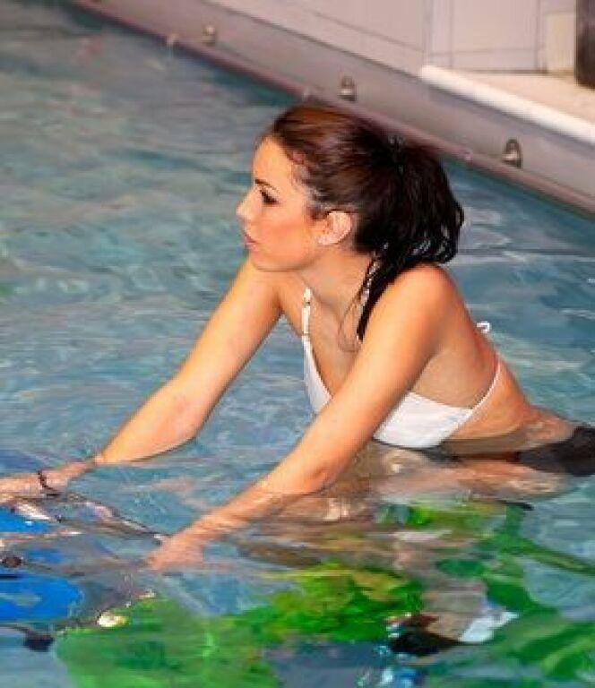 Des exercices d'aquabike à pratiquer seul.