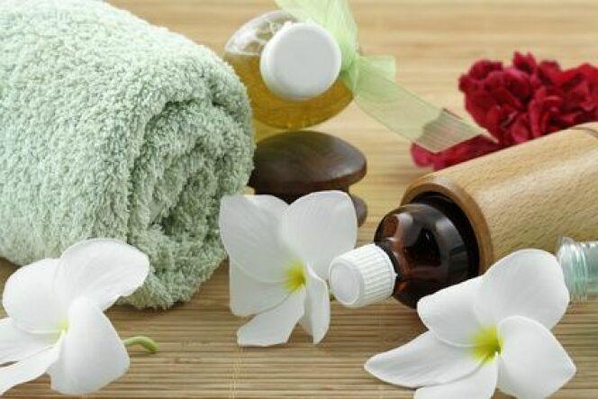 Des huiles essentielles pour le hammam