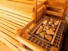 Des pierres pour le sauna : indispensables pour chauffer et créer de la vapeur