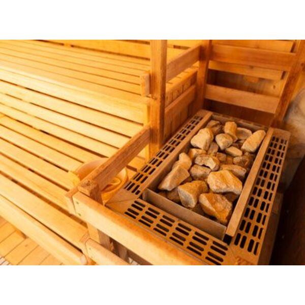 Des Pierres Pour Le Sauna  Indispensables Pour Chauffer Et Crer De