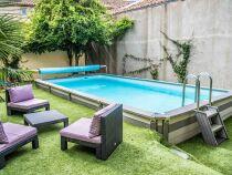 Des piscines hors-sol esthétiques sans compromis sur la qualité