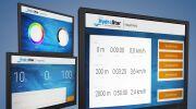 Nouvel écran tactile pour turbines de nage à contre-courant HydroStar de BINDER