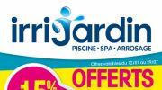 Des promotions chez Irrijardin !