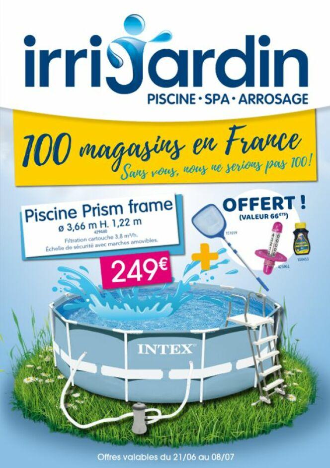Des promotions d'été dans votre magasin Irrijardin !