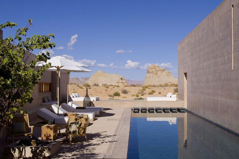 Des suites luxueuses avec piscine privée© Hôtel Amangiri