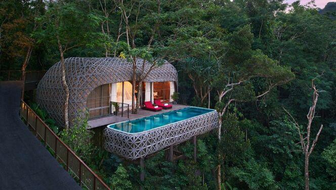 "Des vacances avec piscine privée en Thaïlande !<span class=""normal italic petit"">© Keemala Resort</span>"