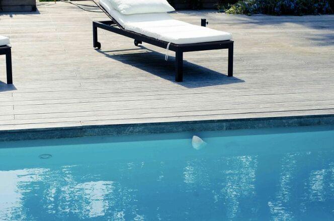 Discret, Flipr s'intègrera à votre piscine pour ne pas vous gêner pendant votre baignade