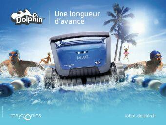 Dolphin : le robot de piscine qui prend une longueur d'avance