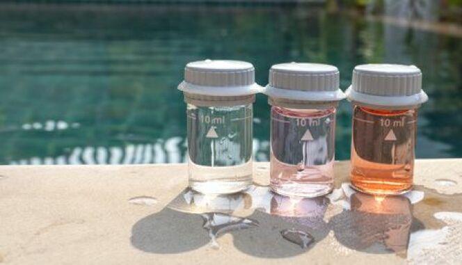 Dosage du floculant dans une piscine