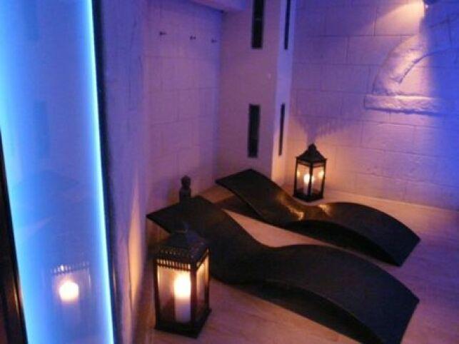 Salle de relaxation du Spa