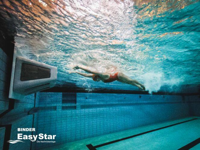 La championne du monde de natation handisport Elena Krawzow face à HydroStar !
