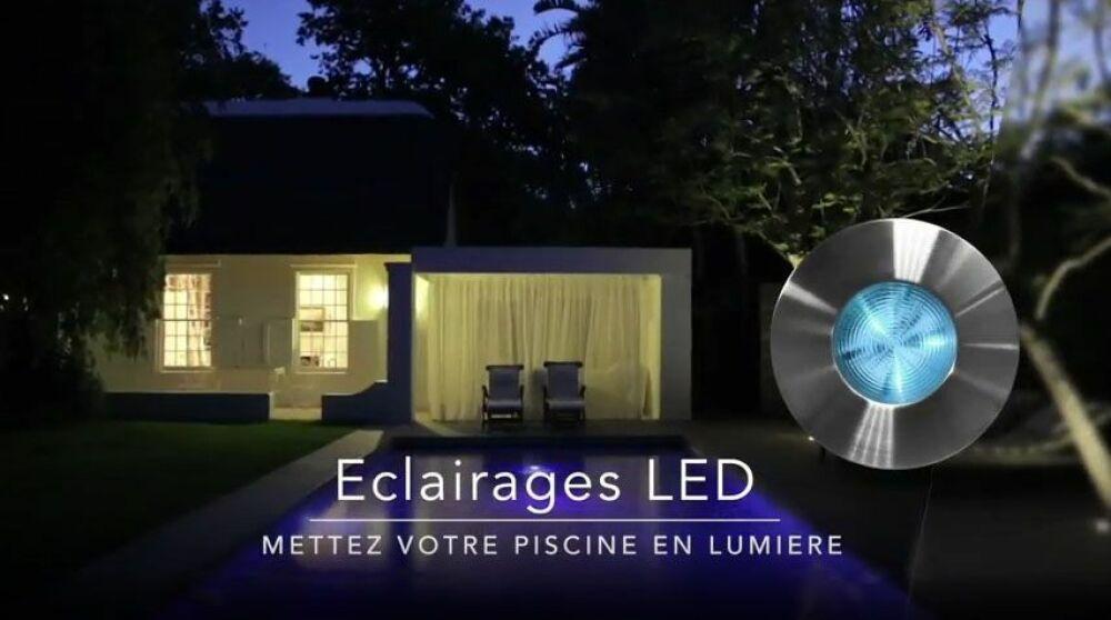 Eclairages LED pour piscines© CCEI