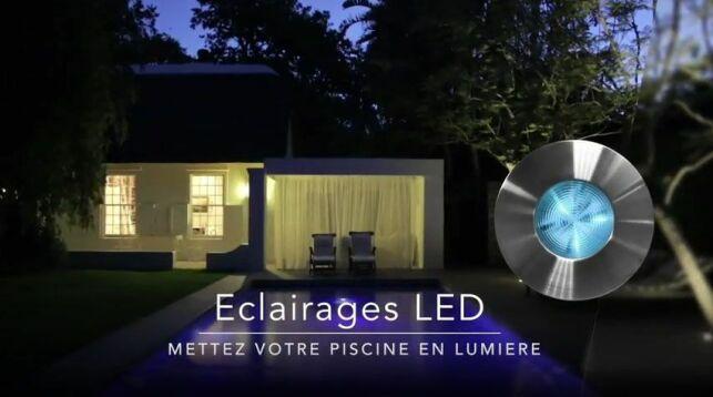 Eclairages LED pour piscines