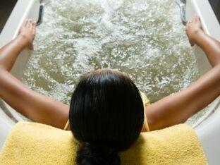 L'effet venturi d'un bain bouillonnant