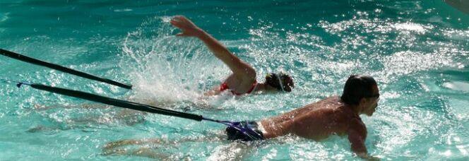 Elastique de natation