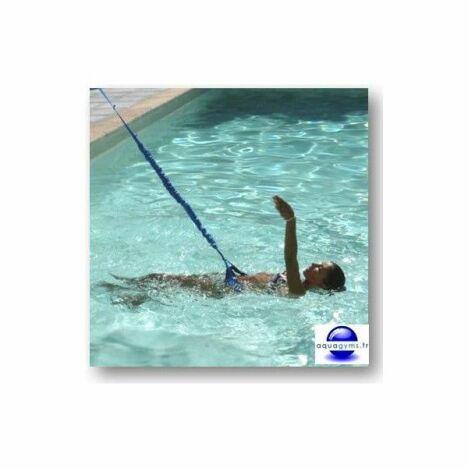 """Élastique de natation par Aquagyms<span class=""""normal italic petit"""">© Aquagyms</span>"""