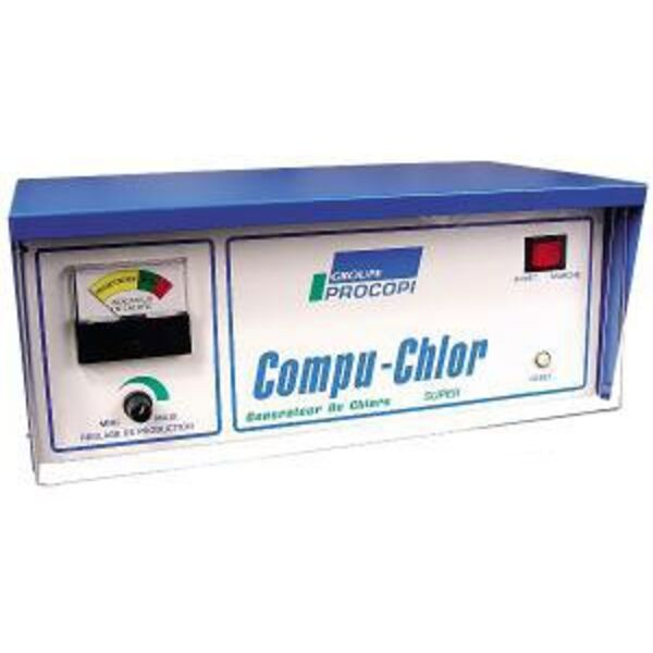 Electrolyseur au sel piscine compu chlor procopi - Electrolyseur de sel pour piscine ...