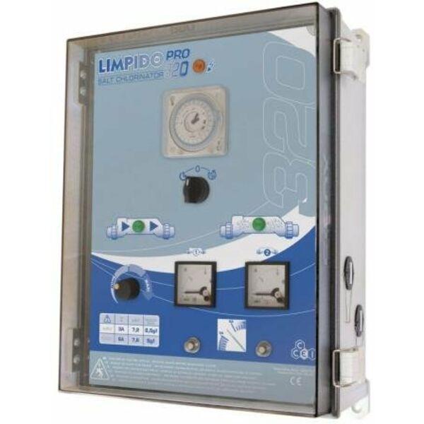 Electrolyseur de sel lectrom canique piscine limpido for Electrolyseur piscine
