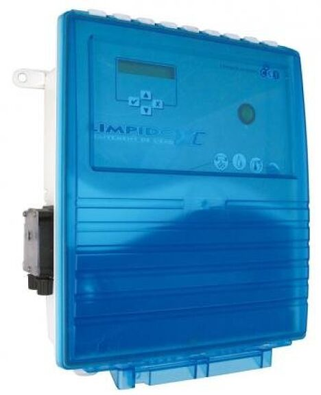 "Electrolyseur de sel piscine Limpido XC LAB 100<span class=""normal italic petit"">DR</span>"