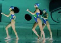 Vidéo : elles marchent…sur l'eau ?