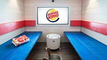 En Finlande, on peut manger Burger King au sauna