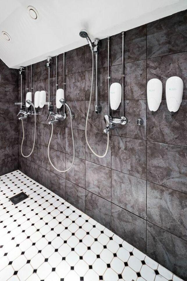 Les douches