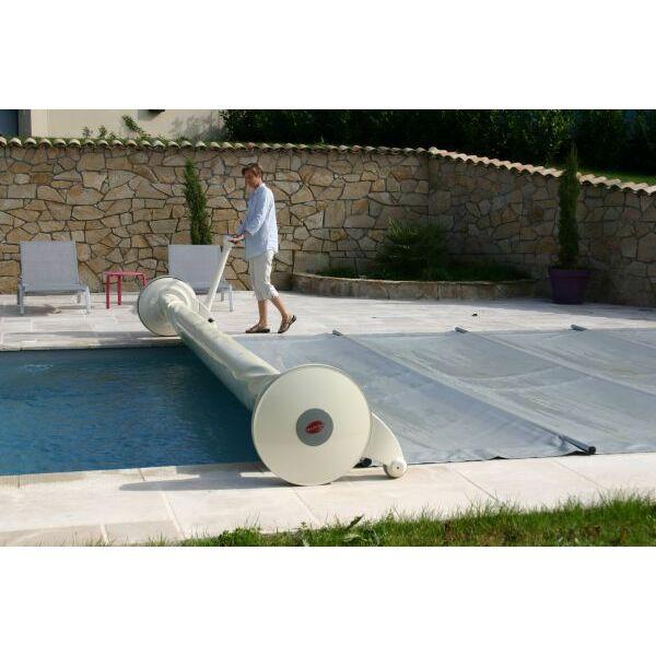 L 39 enrouleur pour b che barres fonctionnement for Couverture de piscine