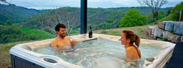 Entre de bien-être le spa de Cayla à Linac