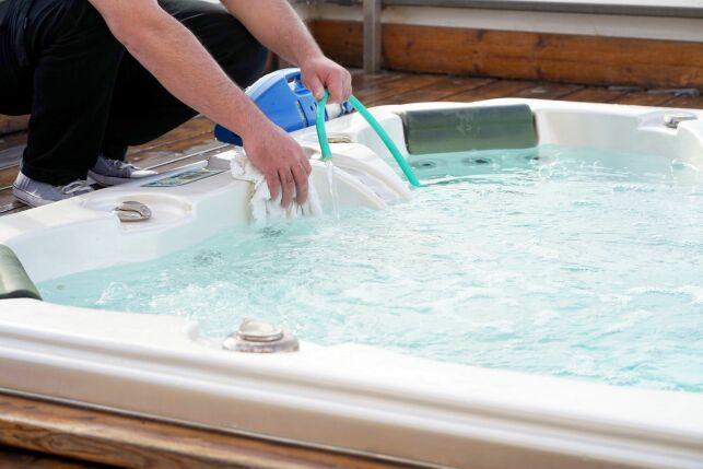 Entretien d'un spa de nage