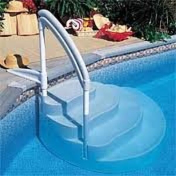Escalier amovible piscine for Escalier pour piscine
