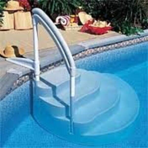 escalier amovible piscine. Black Bedroom Furniture Sets. Home Design Ideas