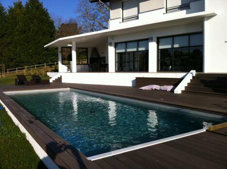 Etcheverry piscines bidart pisciniste pyr n es for Construction piscine 64