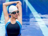 Étirements des épaules en natation