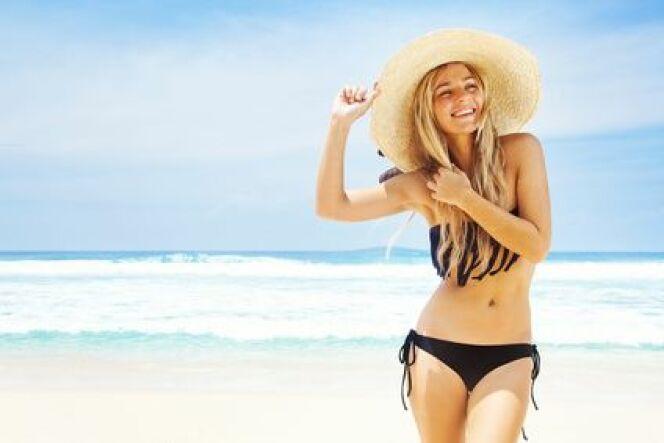 """Être au top à la plage ou à la piscine<span class=""""normal italic petit"""">© Mila Supynska - Fotolia.com</span>"""
