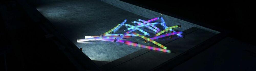 Everblue présente la frite de piscine lumineuse© Everblue
