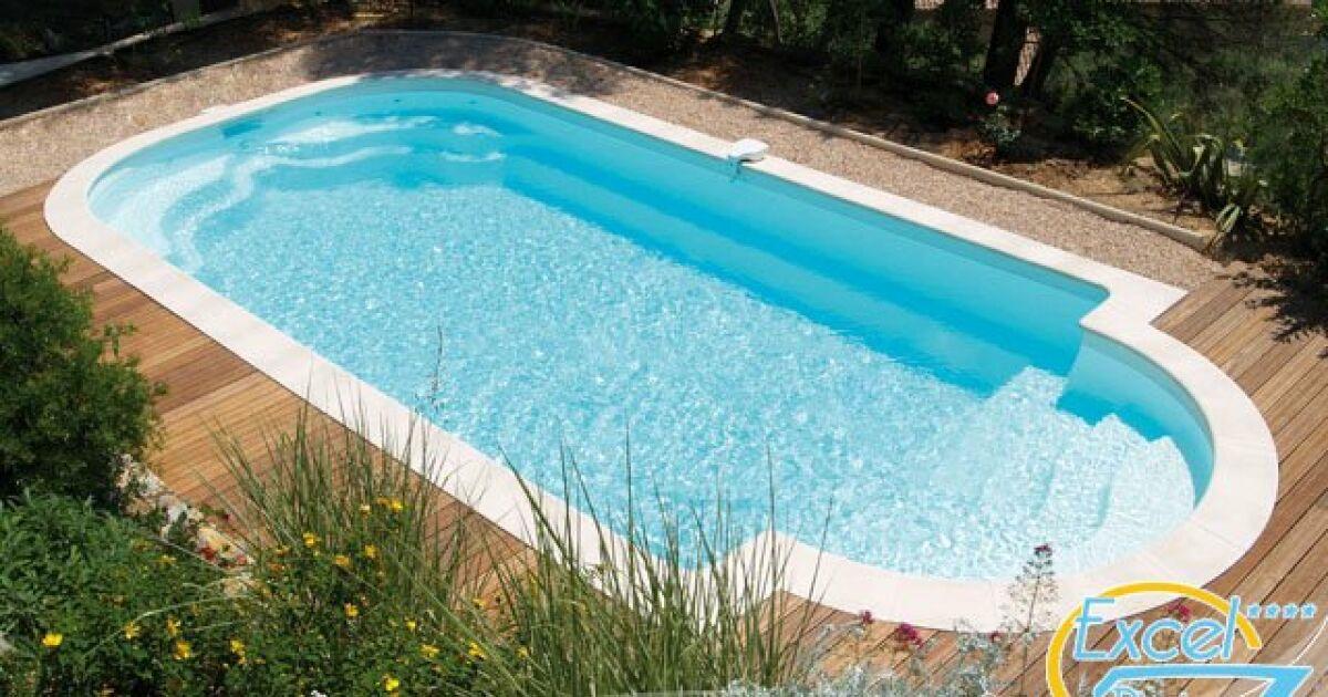 coque piscine 4x8