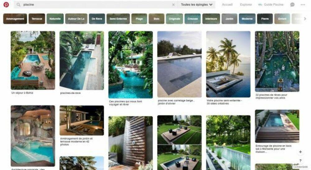 Explorer Pinterest : des millions de photographies.DR