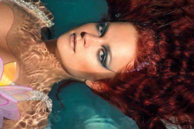 Un œil de biche même sous l'eau