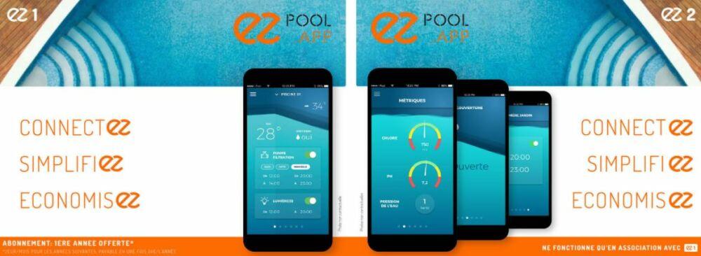 EZPool : solution domotique pour le traitement de la piscine© EZPool