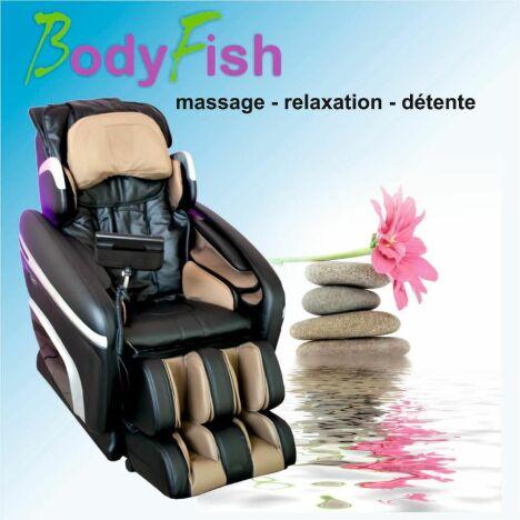 Les fauteuils du spa BodyFish sont équipés d'un système de massage pour encore plus de bien-être.
