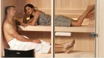 Festival du sauna mobile en Finlande