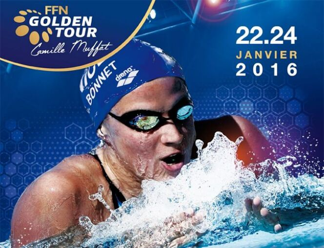 "FFN Golden Tour Camille Muffat<span class=""normal italic petit"">© Fédération Française de Natation</span>"